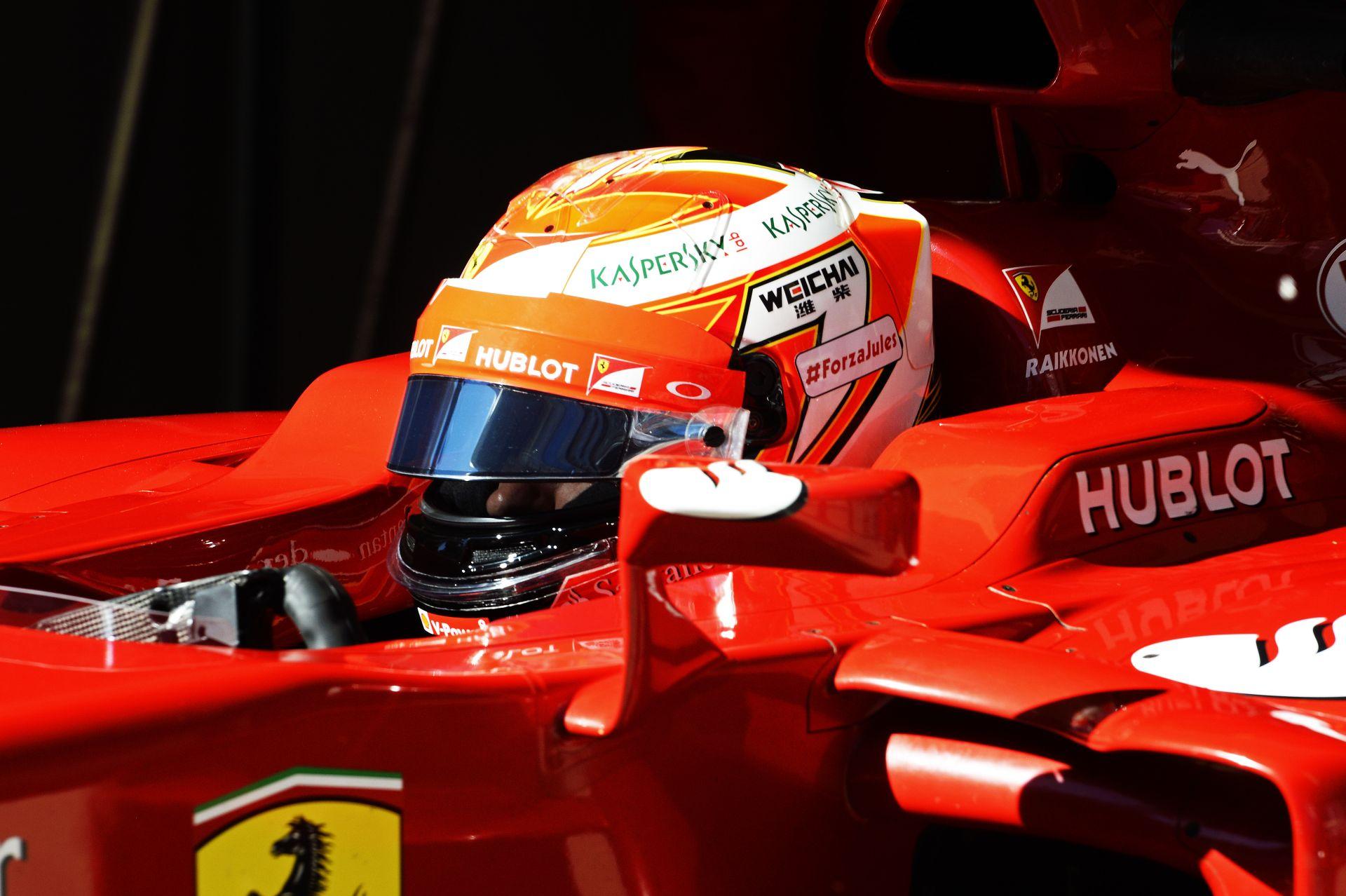 Ferrari: Raikkönen minimális különbséggel Alonso mögött Oroszországban