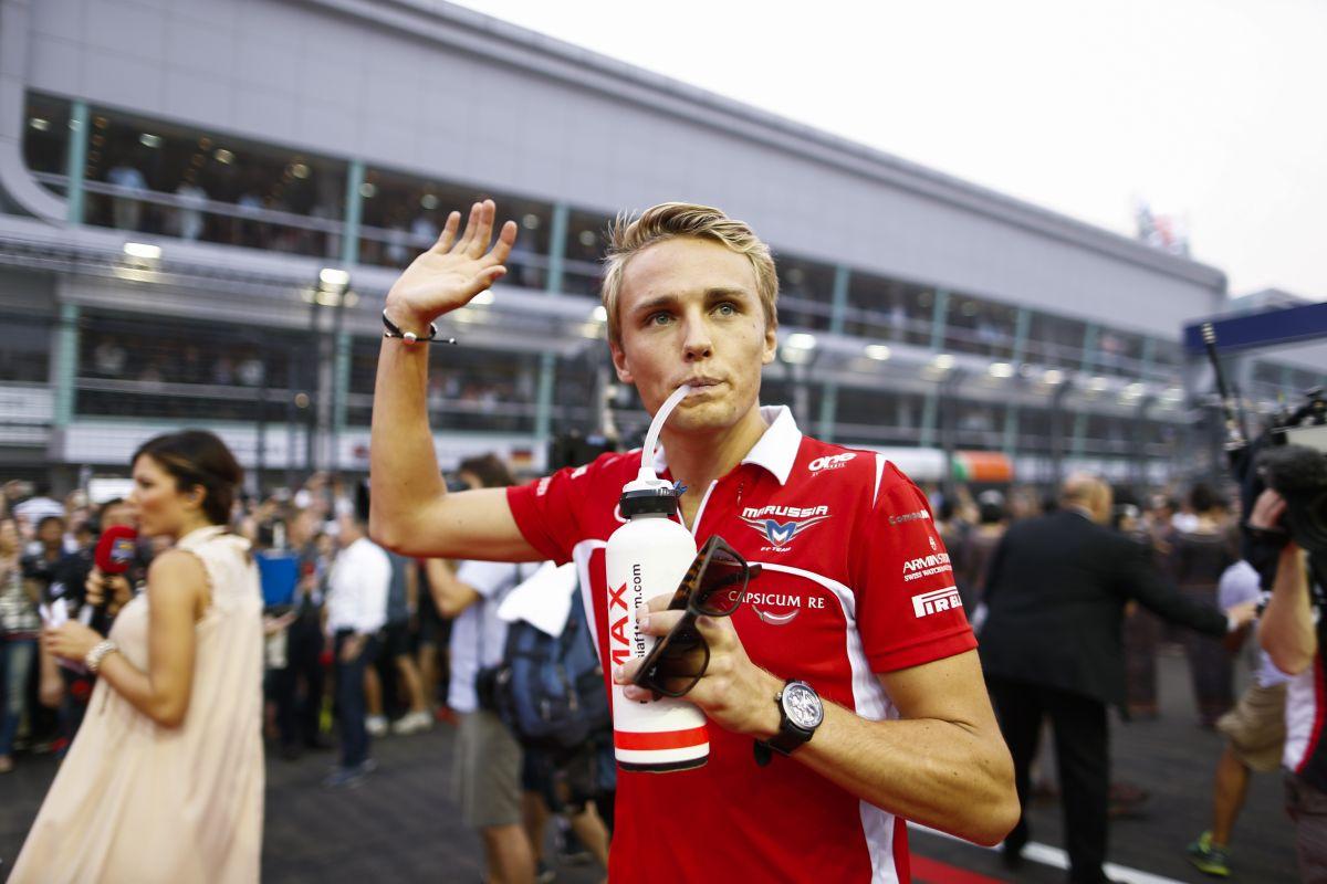 Holnap mindenki Bianchiért fog versenyezni a Marussiánál