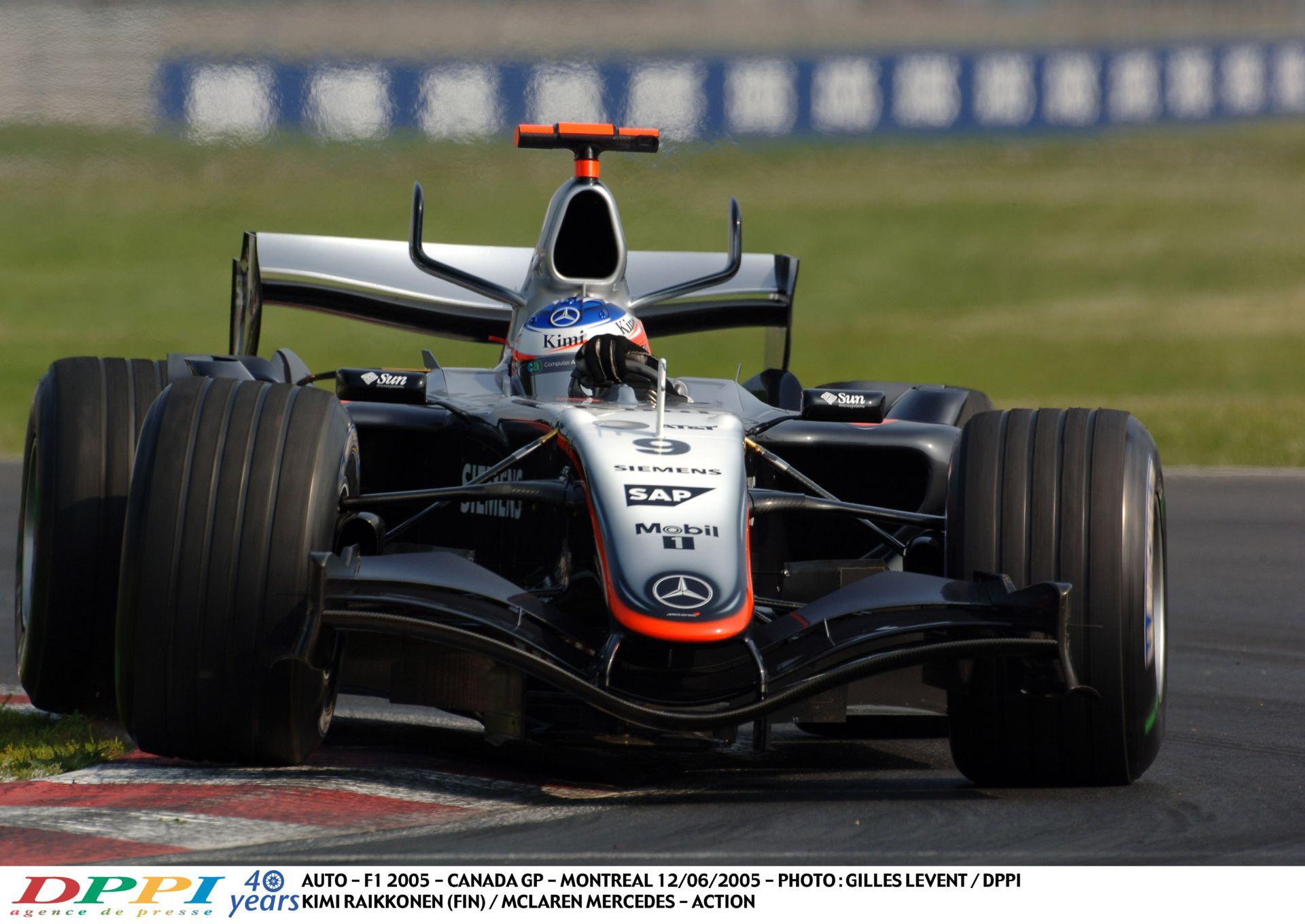 Felejthetetlen F1-es élmény: Montoya, Raikkönen, Alonso és a V10 Kanadában