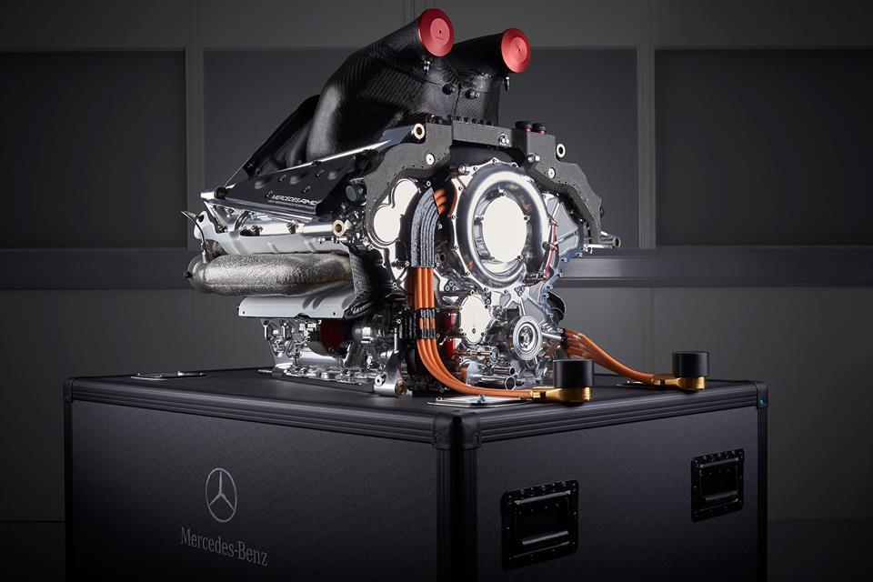 Pályán kívül is tarol a Mercedes F1-es motorja: nívós elismerést kapott a PU106A