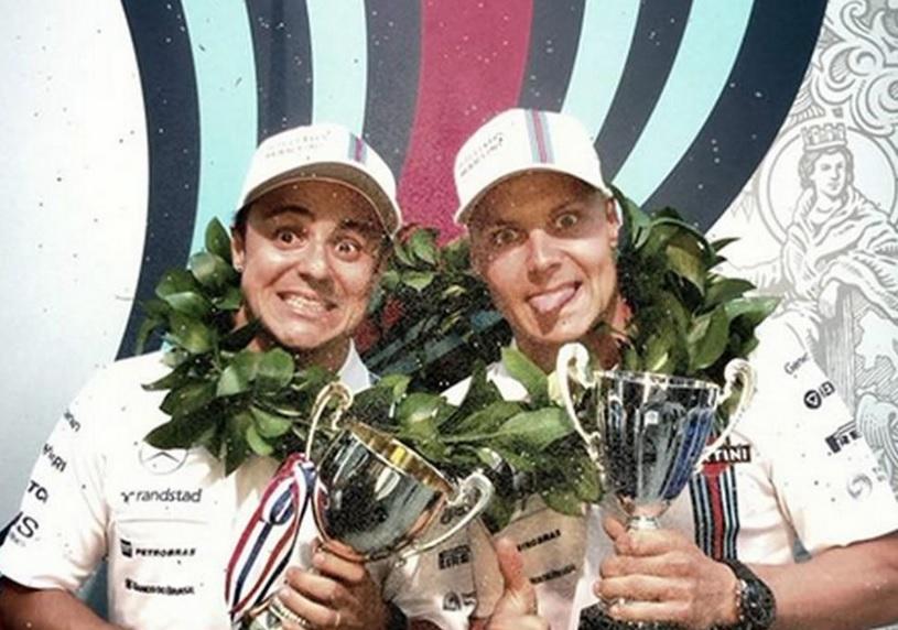 Hivatalos: Massa és Bottas 2015-ben is a Williams versenyzője lesz