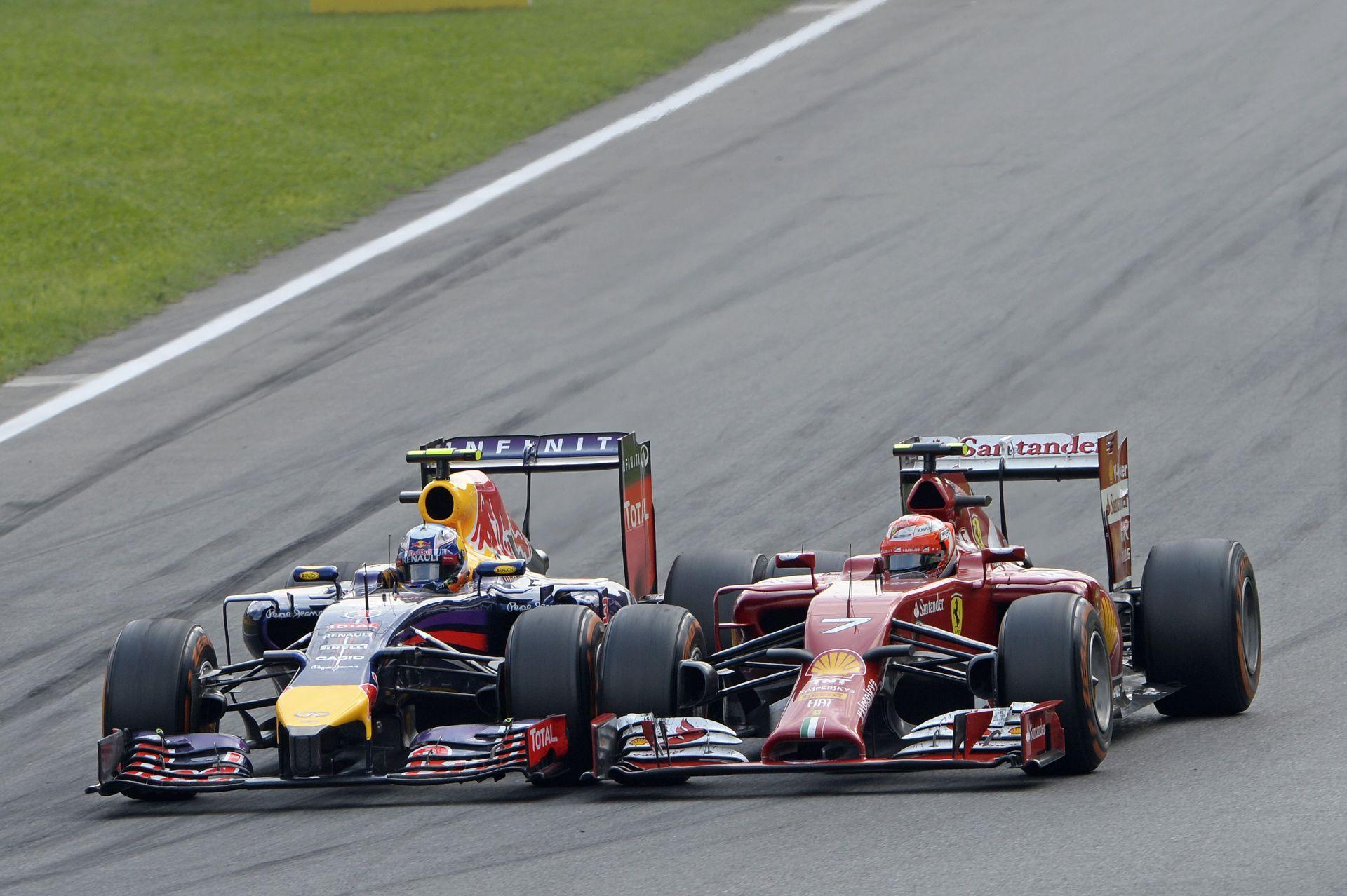 Videón az Olasz Nagydíj legnagyobb előzése: Ricciardo bealtatta Raikkönent! Nem kicsit, csak nagyon