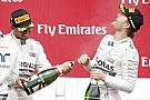 Rosberg rögtön bedarálta Hamiltont, aki elismerte, a német most jobb volt nála