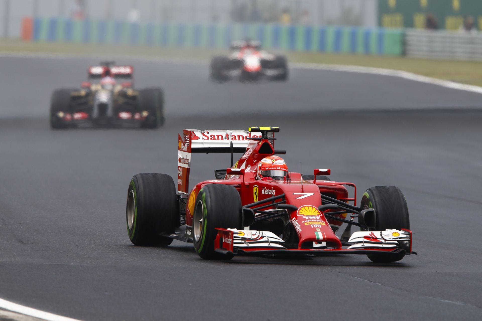Raikkönen saját magától biztosan nem hajlandó elhagyni a Ferrarit