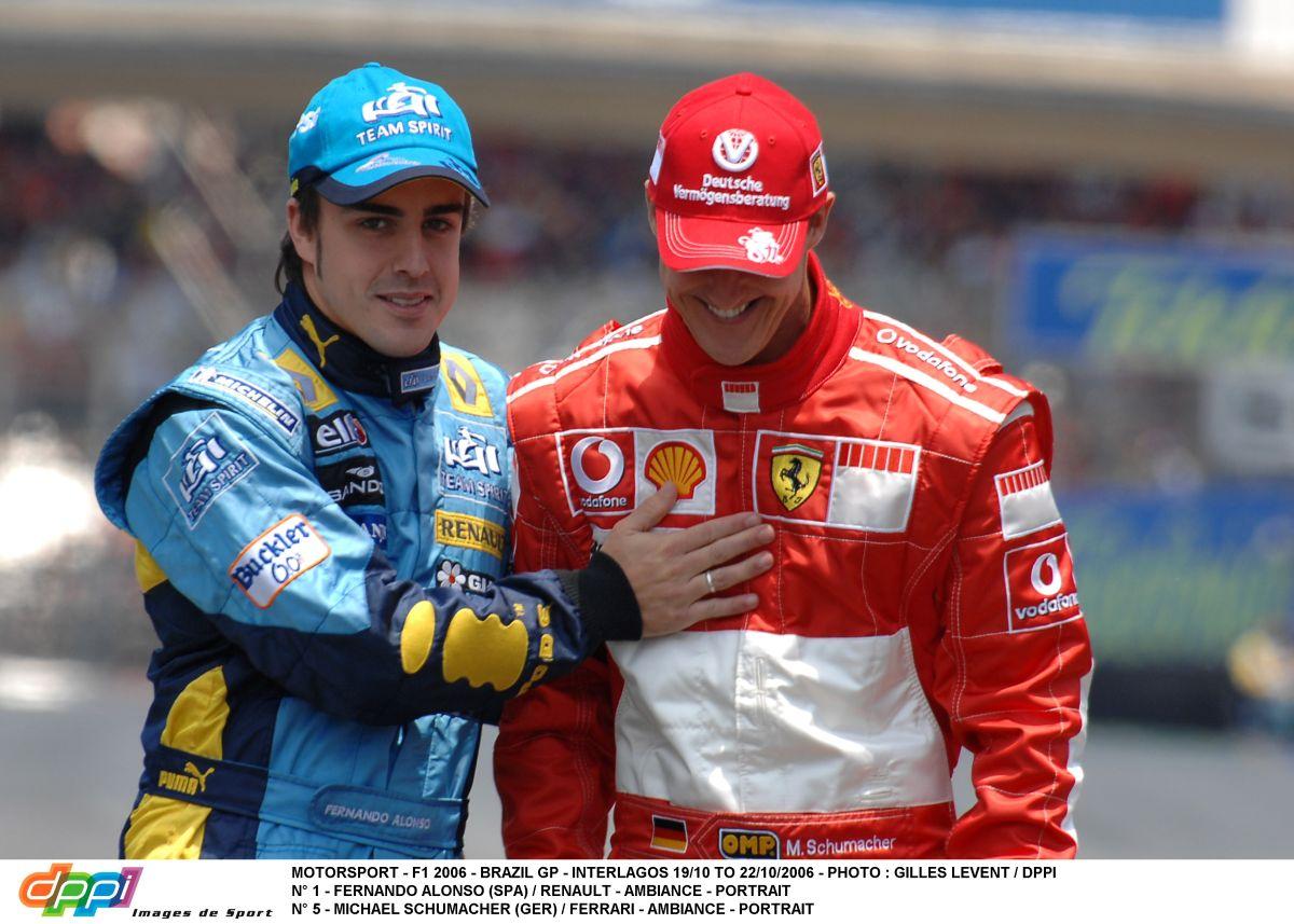 Schumacher volt Alonso legkeményebb ellenfele: mindig rajta kellett tartanod a szemed