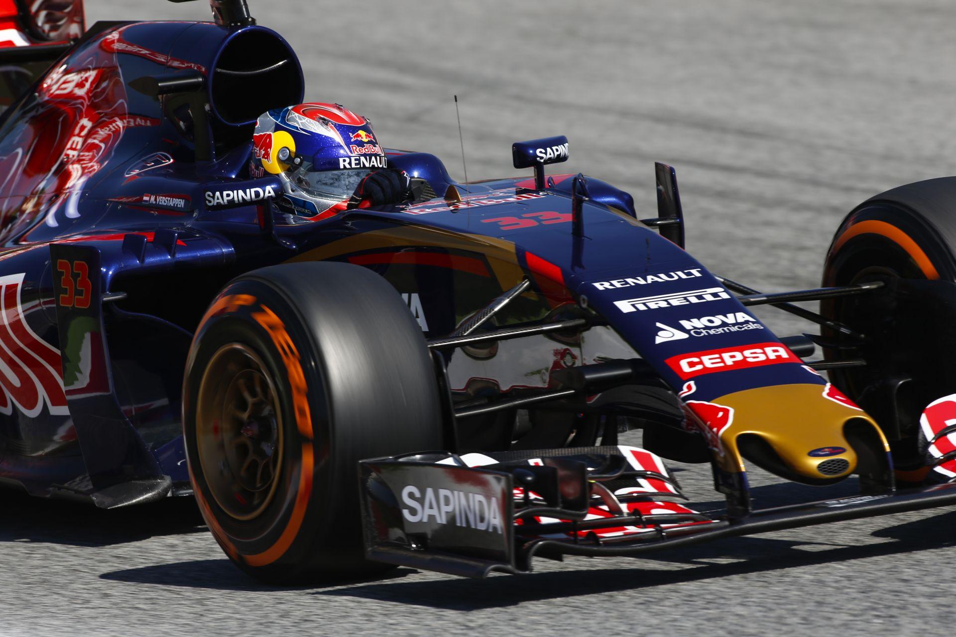 """A Toro Rosso a Spanyol Nagydíjon ott van a topcsapatok sarkában - újra jó formában a """"kis bikák"""""""