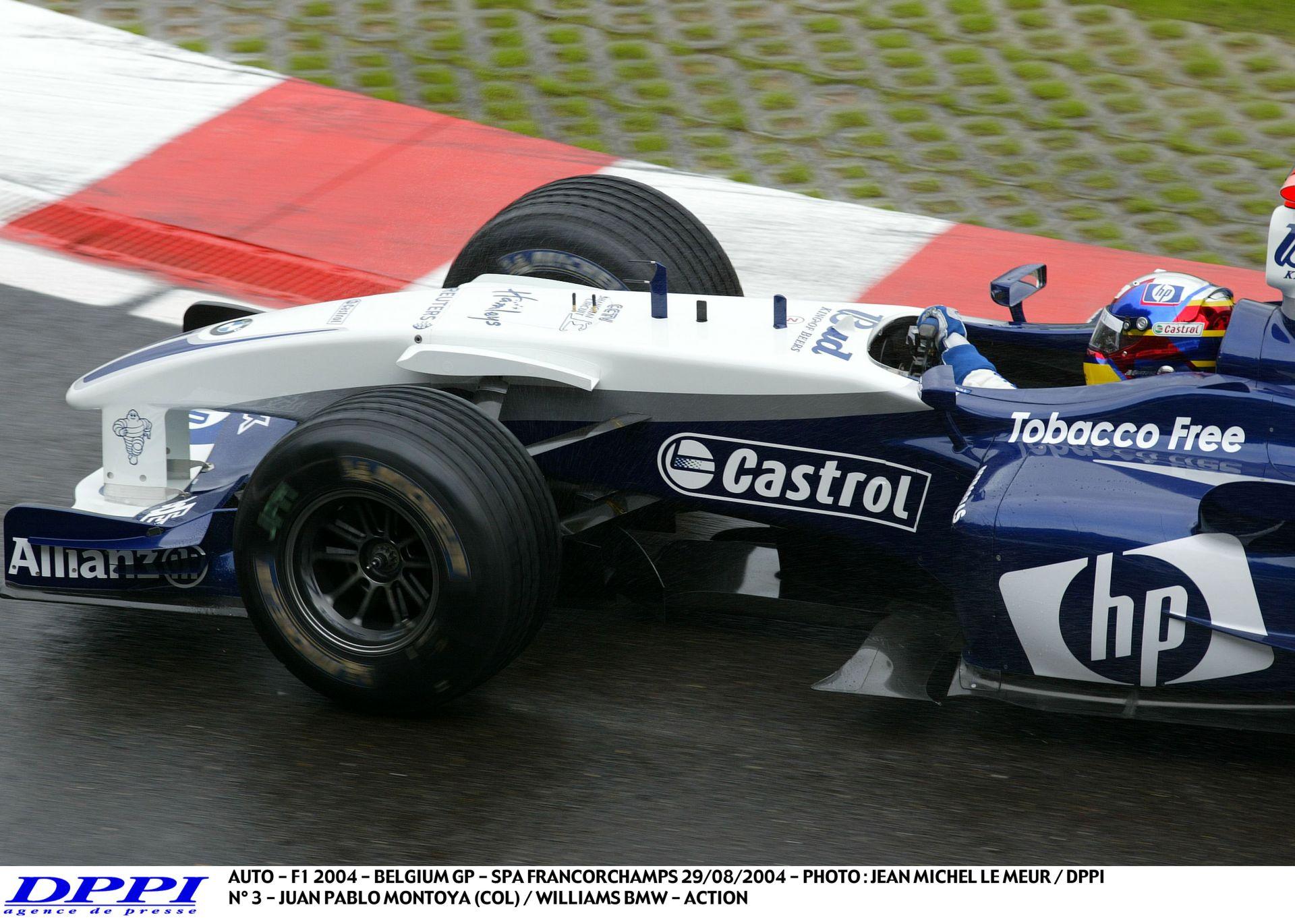 Jobban szól, mint bármi más: 14 perc V10-es F1-es hang Montoyával Spa-ban