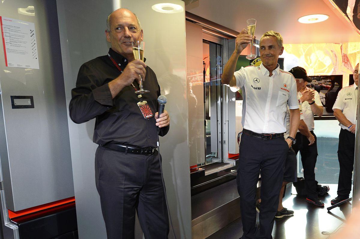 Barátságosan szakított egymással Whitmarsh és a McLaren