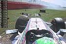 Videón Massa balesete az első edzésről: belátta, hogy ő hibázott