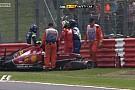 Raikkönen drámai becsapódása a Ferrarival: Nagyon nagy volt