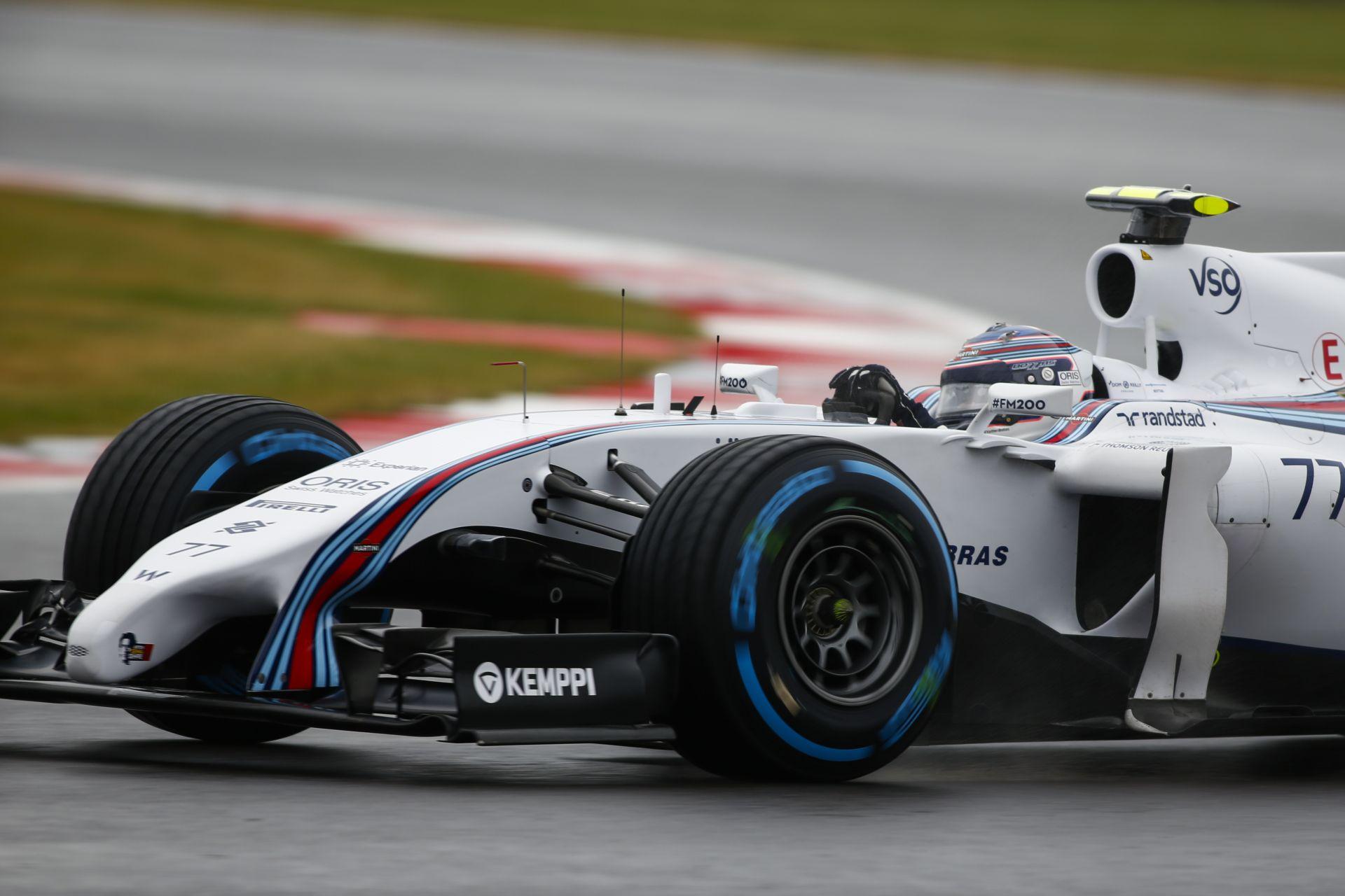 Bottas lett a Williams vezére, aki egy kivéletes tehetség lehet. Mi lesz Massával?