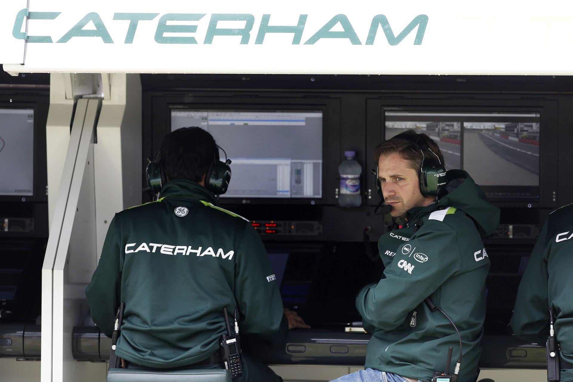 Caterham: Egy nap világbajnokok leszünk az F1-ben? Marhaság!