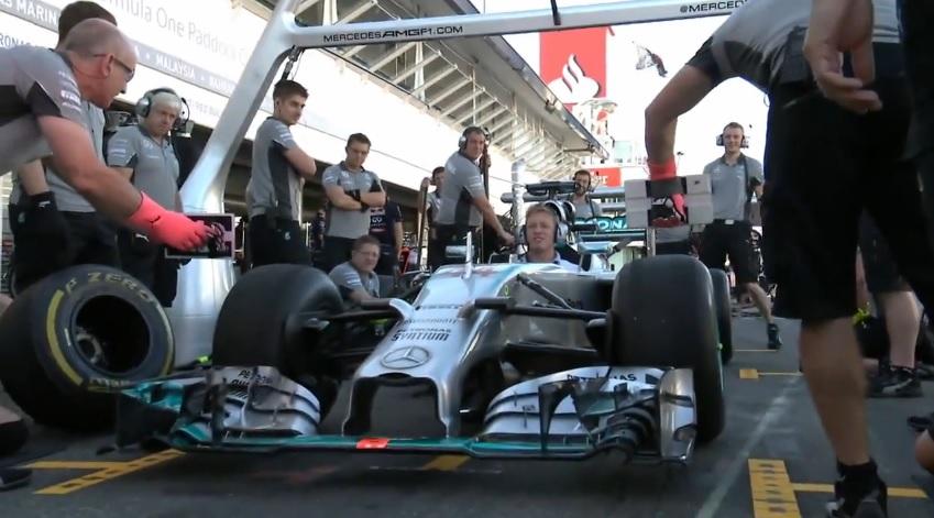 Így dolgozik a villámgyors Mercedes a bokszban: Ez már magasan F1-es szint!