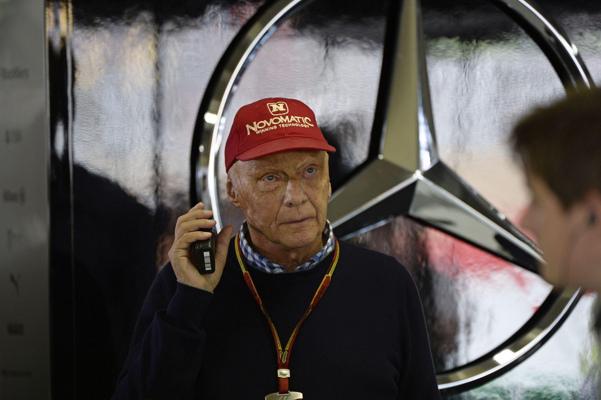 Lauda: Amíg Vettel mögöttünk van a Ferrarival, Hamilton és Rosberg balhézhat egymással