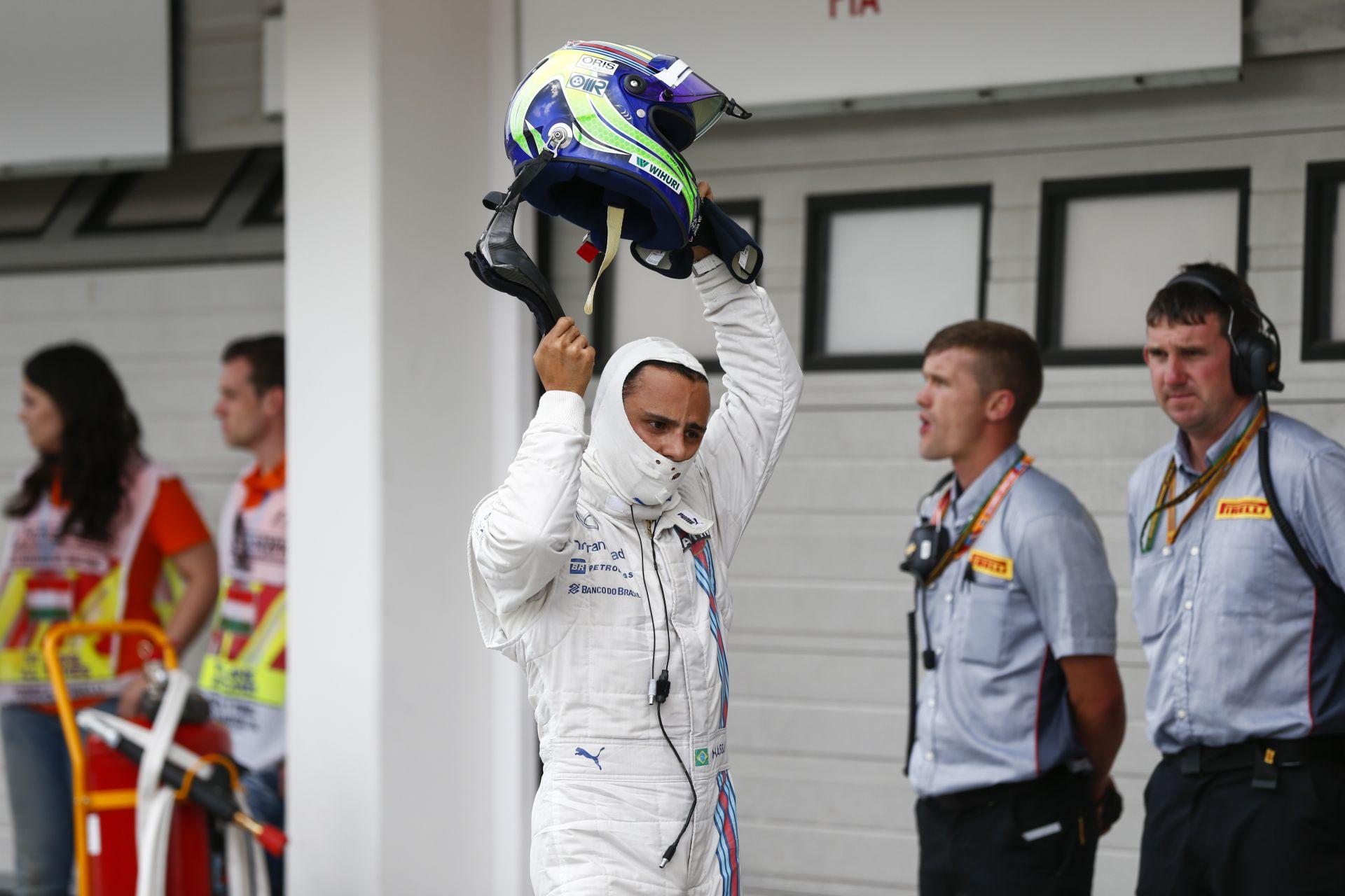 Williams: Massa bosszús a Magyar Nagydíjon történtek miatt, de legyőzte Bottast