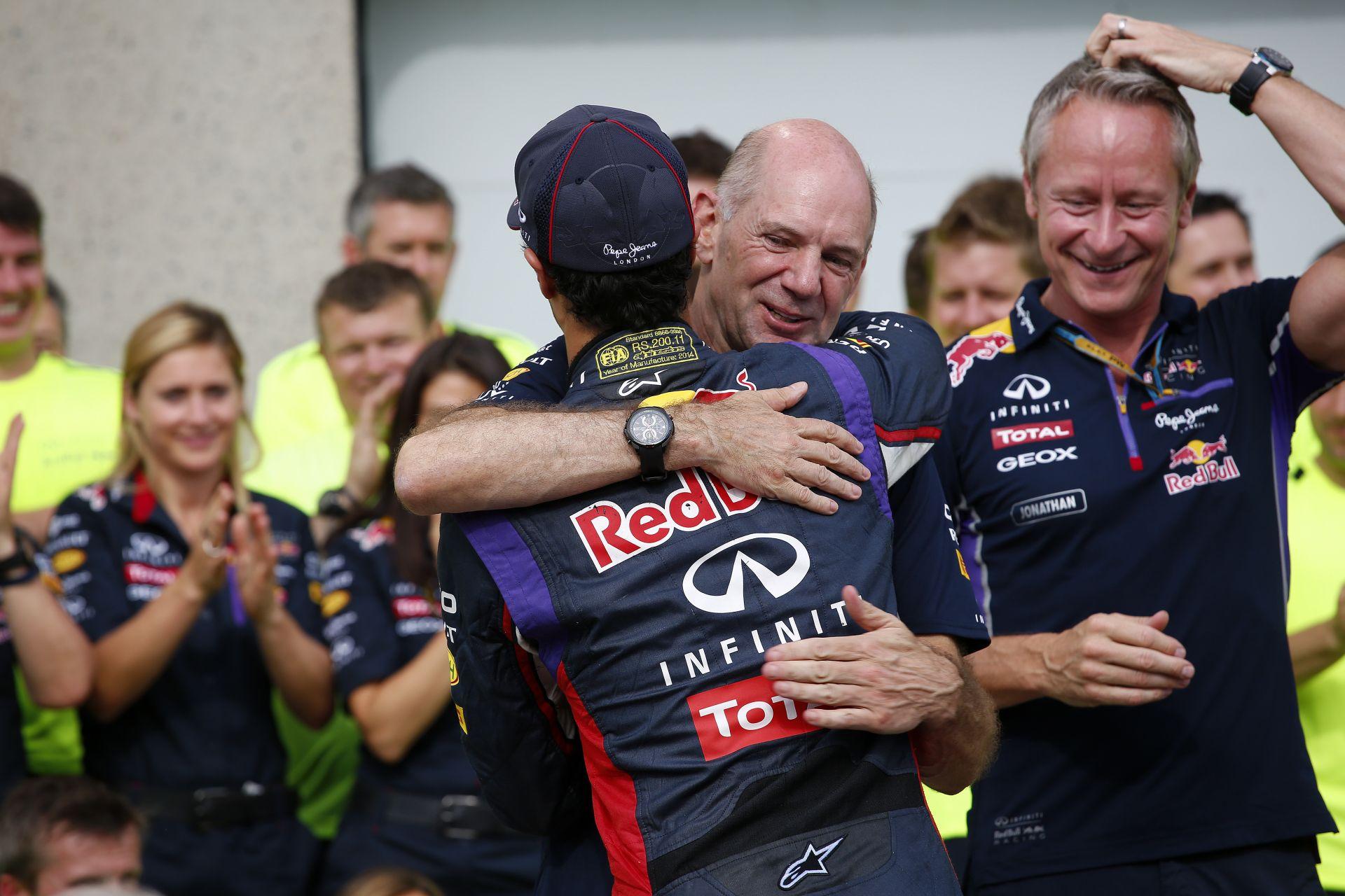 Newey: A 2015-ös Red Bull még teljesen az enyém lesz!