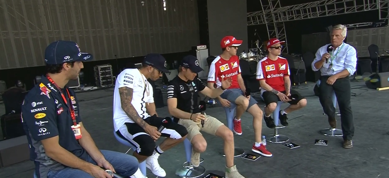 """Hamilton """"szabotálta"""" Rosberg ülését: Nagy jelenet!"""