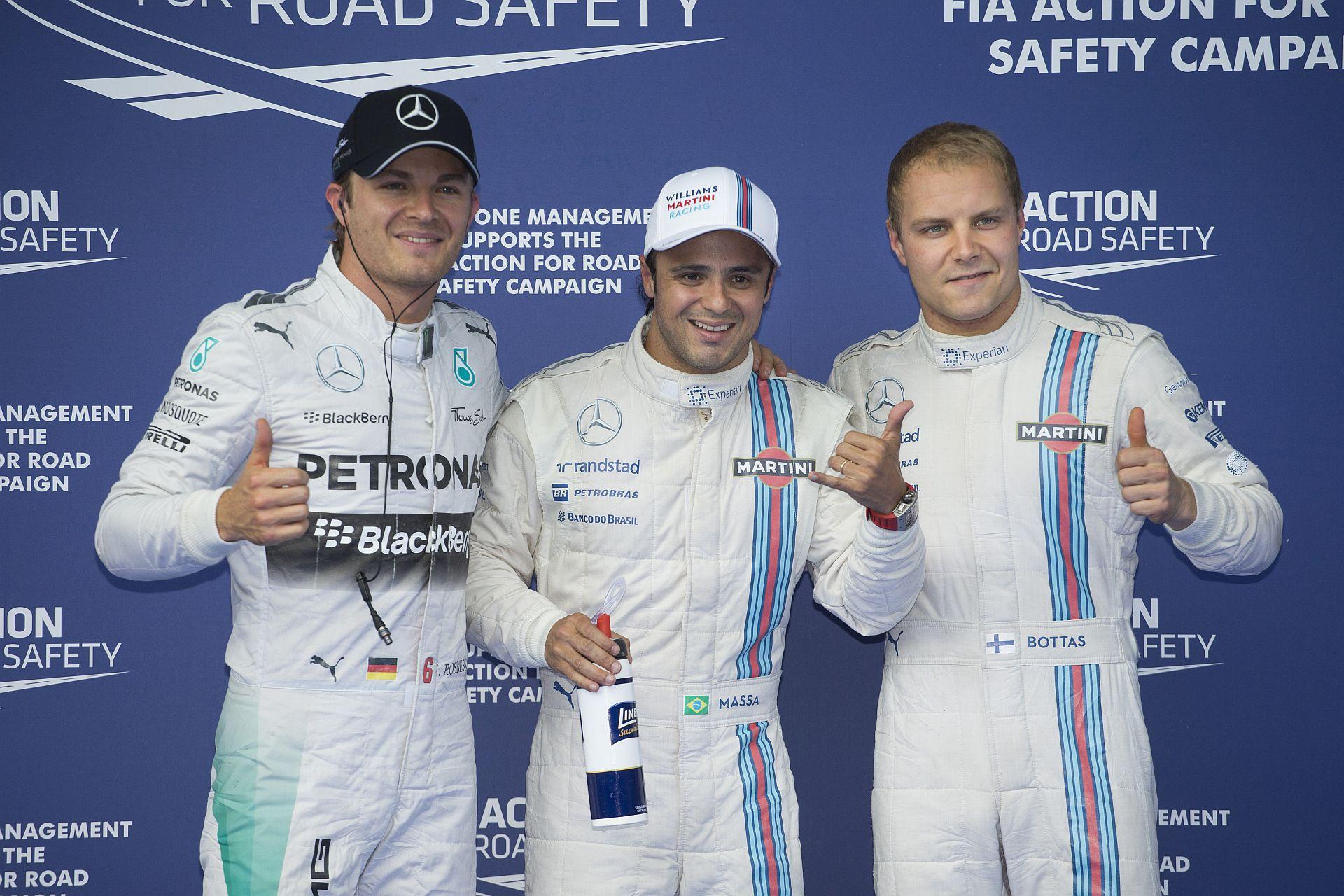Osztrák Nagydíj 2014: Massa szombaton mindent vitt