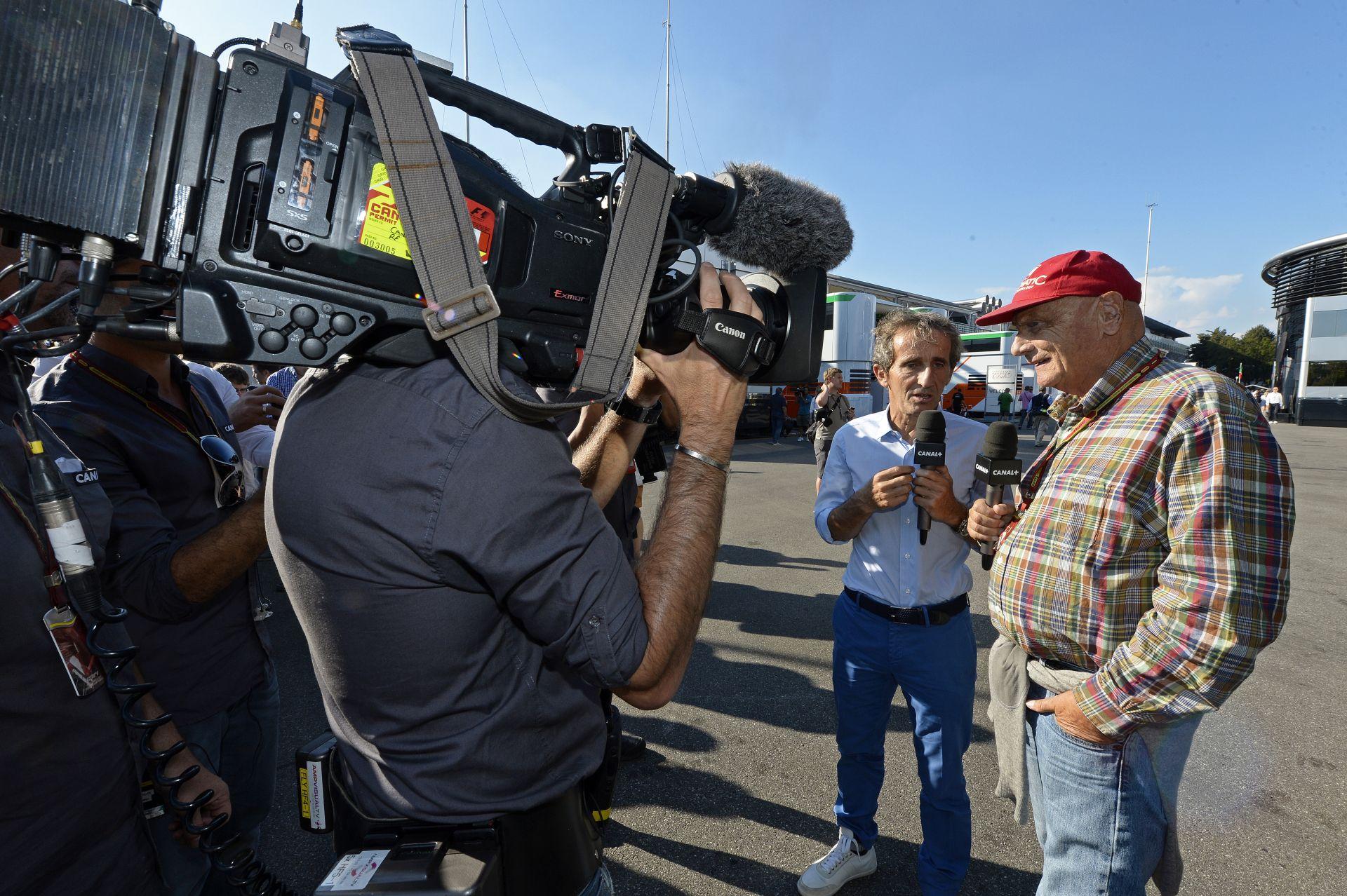 """Niki Lauda: """"Óvakodj a Williamstől és a Ferraritól!"""""""