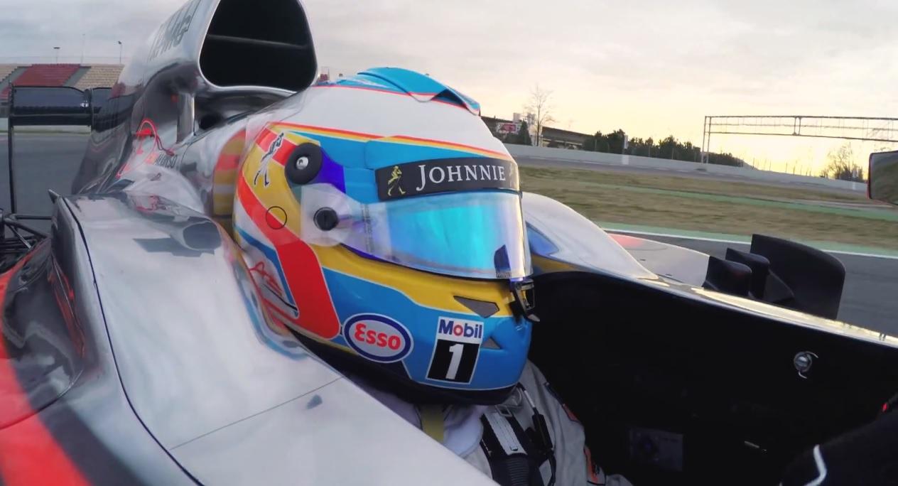 Nagyon EXTRA: Fedélzeti kamerás felvételek, ahogy Alonso vezeti a McLaren-Hondát