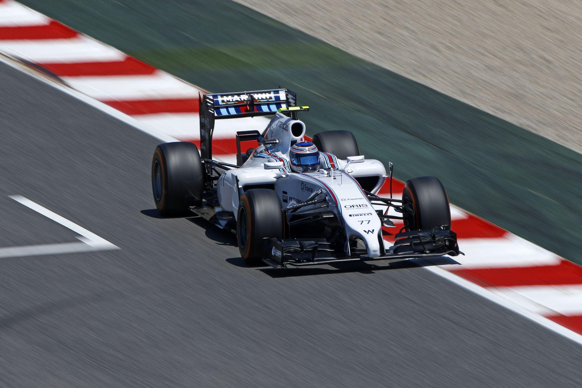 Williams: Bottas parádézott, Massa pedig még csak pontot sem szerzett