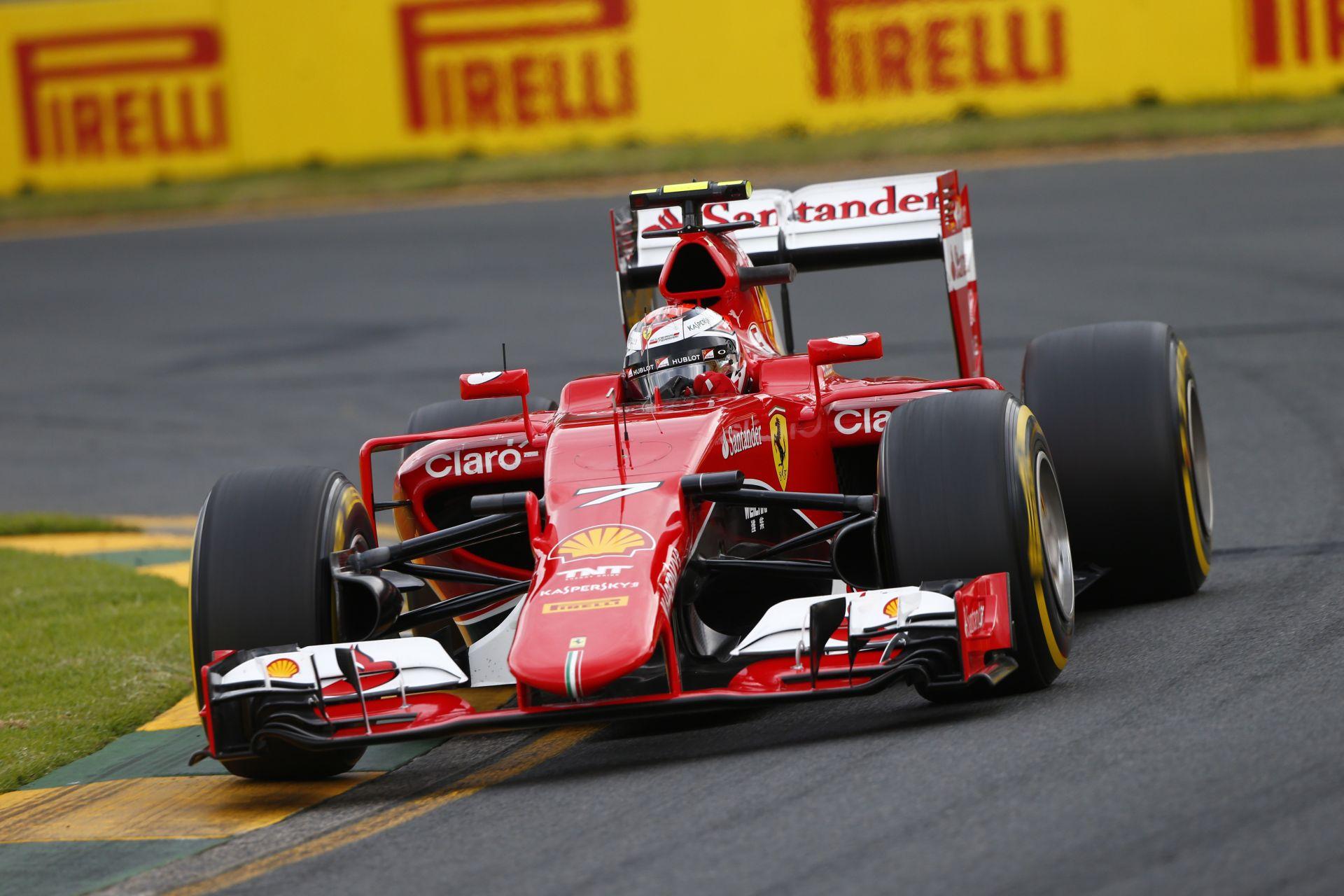 Kimi Räikkönen szerint a versenyen közelebb vannak a Mercedeshez