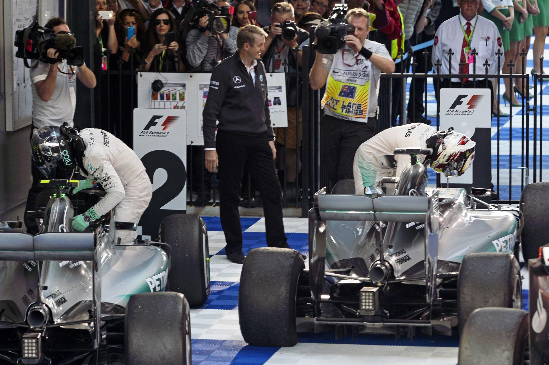 Mercedes: A Ferrari megtett egy lépést előre, és a Williams is nagyon erős!