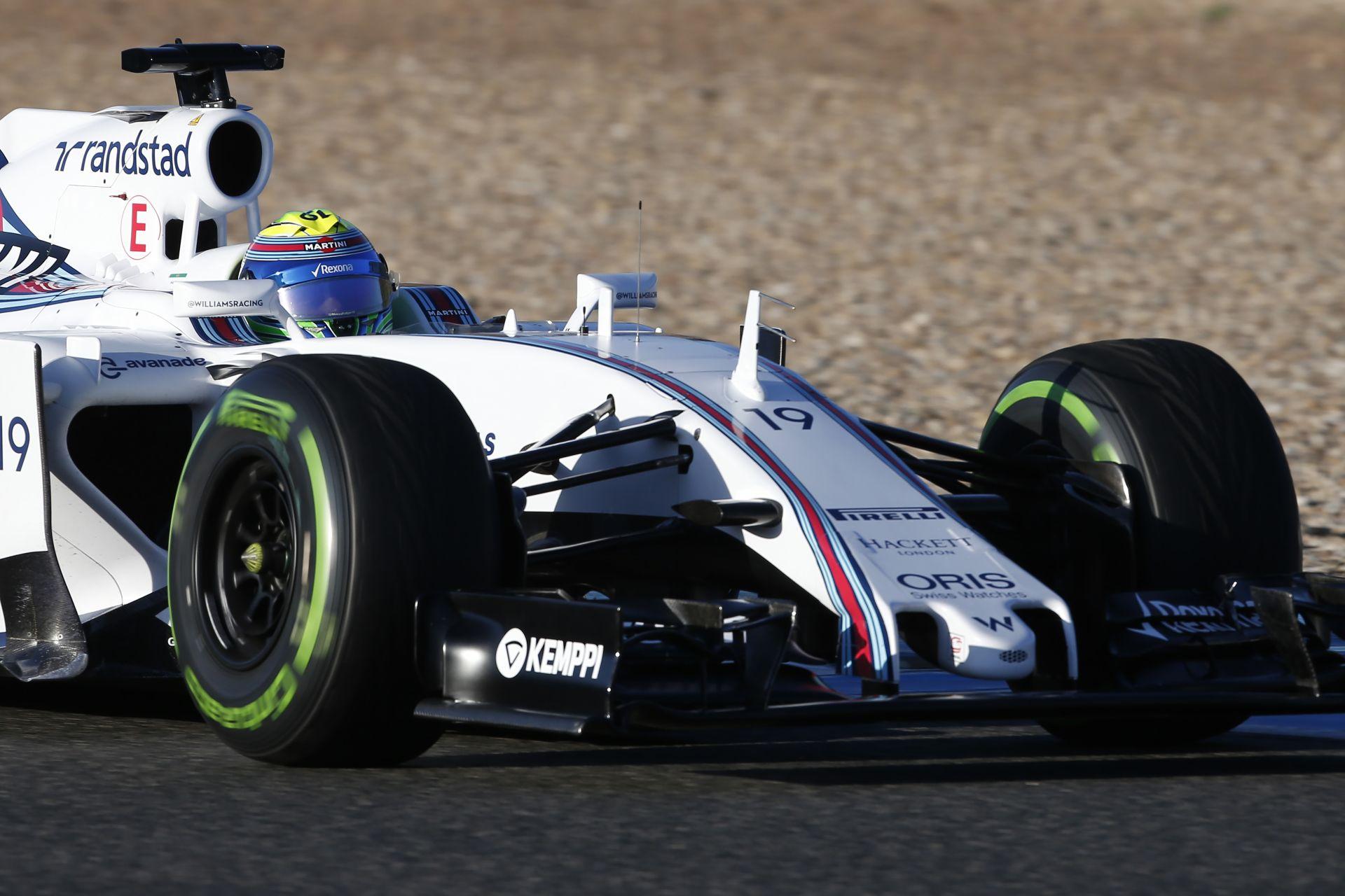 Egyre erősebb a Williams, de ez még valószínűleg kevés