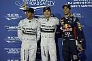 Hamilton húzza a száját, Rosberg boldog, Ricciardo bánkódik a büntetése miatt