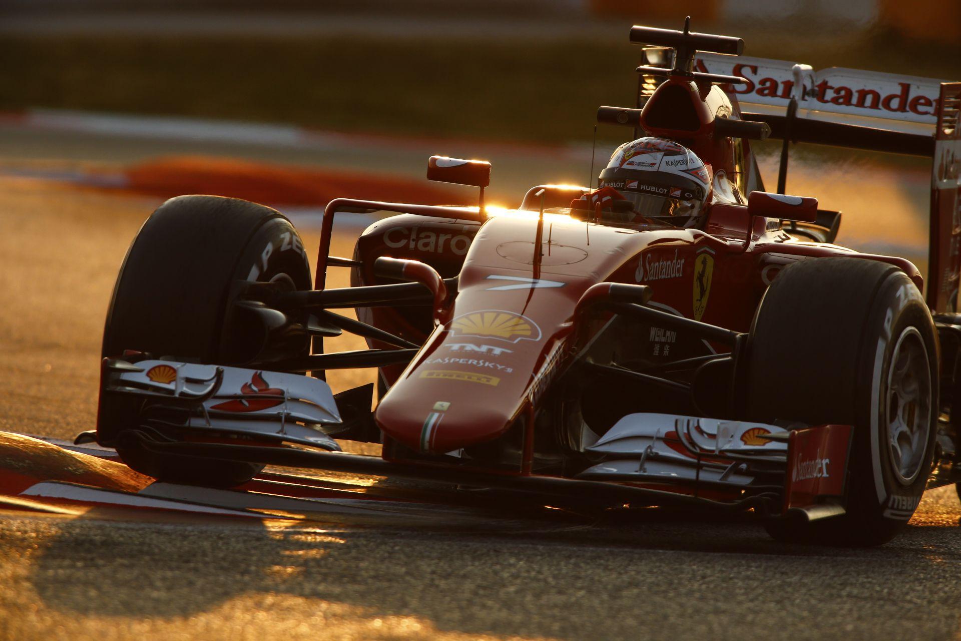 Folytatódik az F1-es teszt Barcelonában: Raikkönen, Alonso, Massa, Rosberg és Ricciardo is pályán