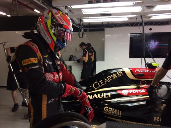 Maldonado motorhiba miatt kihagyja az időmérőt (frissítve)