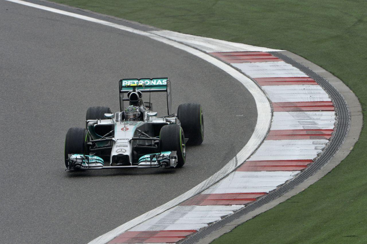 Rosberg túl keményen nyomta, de alapból nem volt elég gyors ma