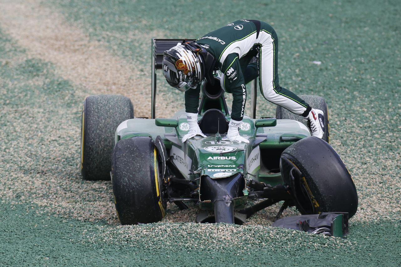 Kobayashi tehetetlen volt Ausztráliában: az autó nem állt meg, ő pánikba esett