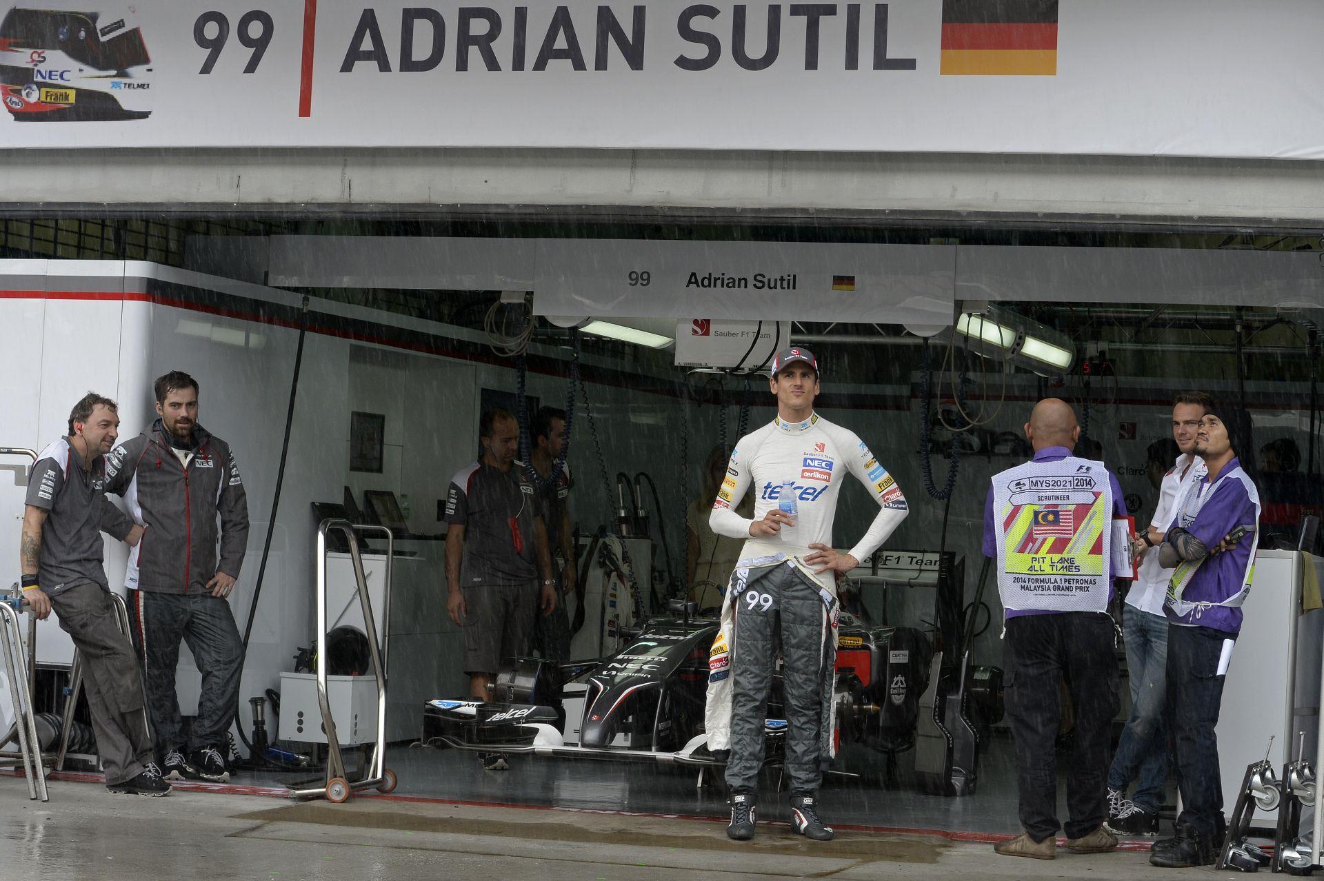Mindkét Sauber kipottyant a Maláj Nagydíjon