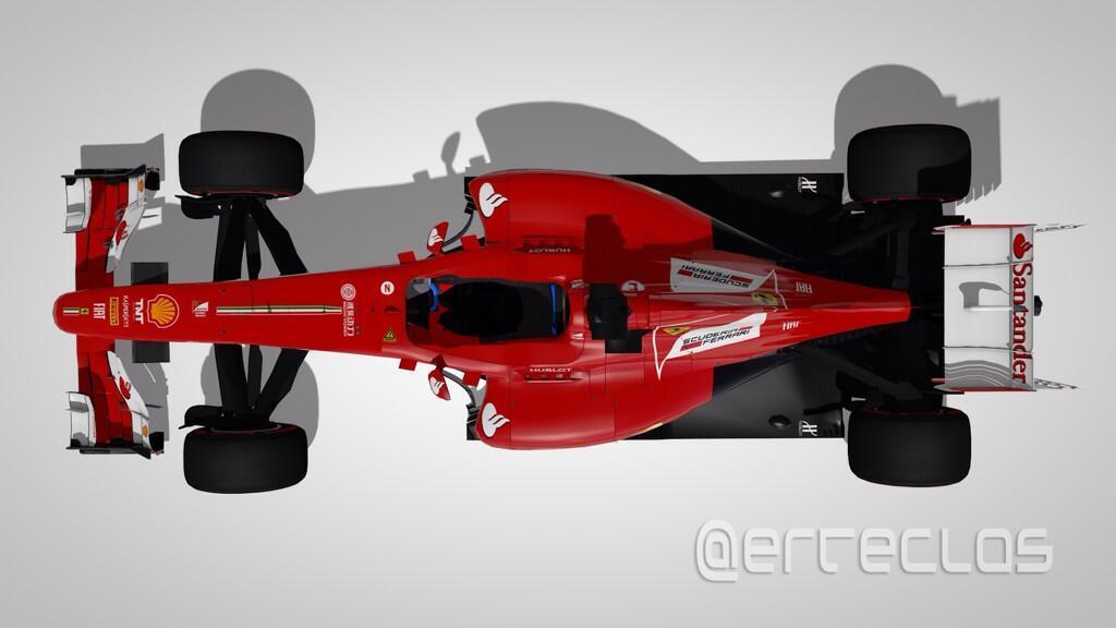 Így festhet Alonso és Raikkönen 2014-es F1-es Ferrarija