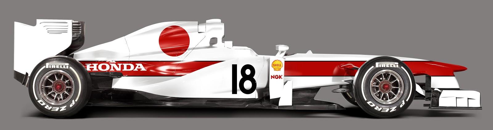 Ez kell a népnek: A Honda festése egy modern F1-es autón