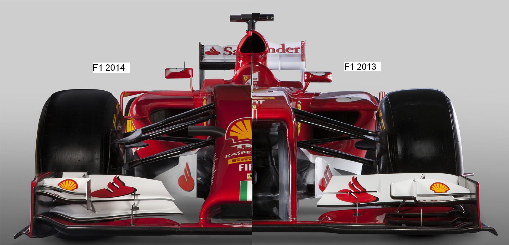 Egymás mellett a 2013-as és a 2014-es Ferrari: A nagy összehasonlítás