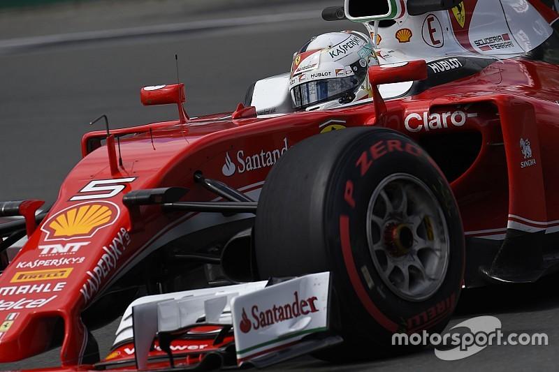Montreal, Libere 3: Vettel e la Ferrari volano prima della pioggia