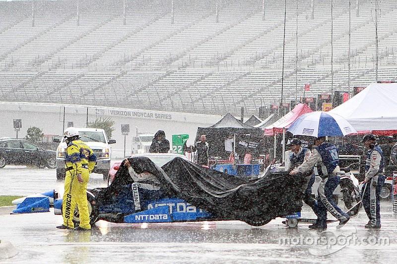 La lluvia obliga a detener la carrera de IndyCar en Texas