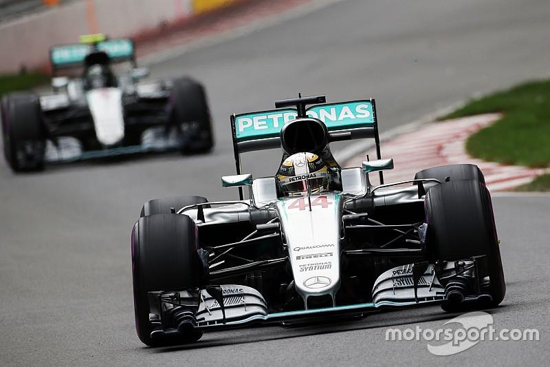 """Lewis Hamilton hätte diese Entwicklung in der Formel-1-WM 2016 """"nicht erwartet"""""""