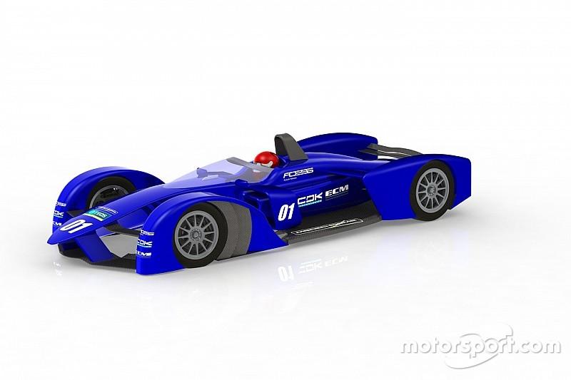 Bildergalerie: Designstudien eines Formel-E-Autos der Zukunft