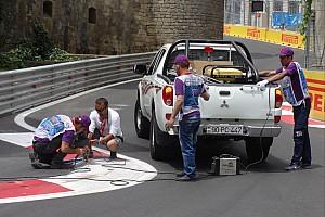 FIA F2 Últimas notícias Baku: problemas nas zebras adiam classificação da GP2
