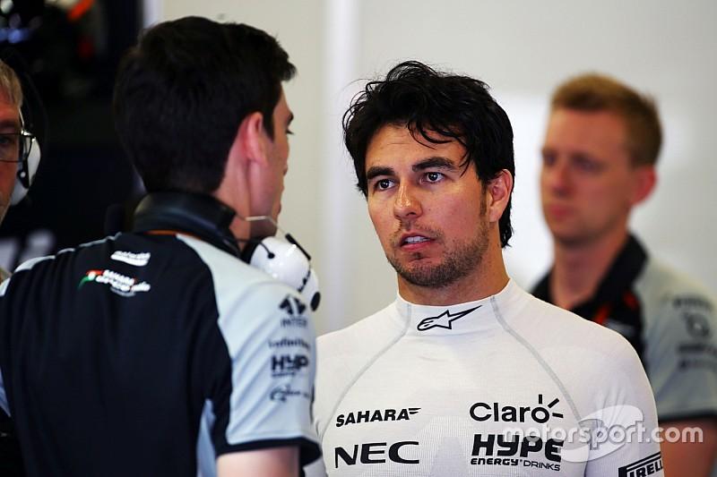 Pérez fue sancionado para la carrera del domingo