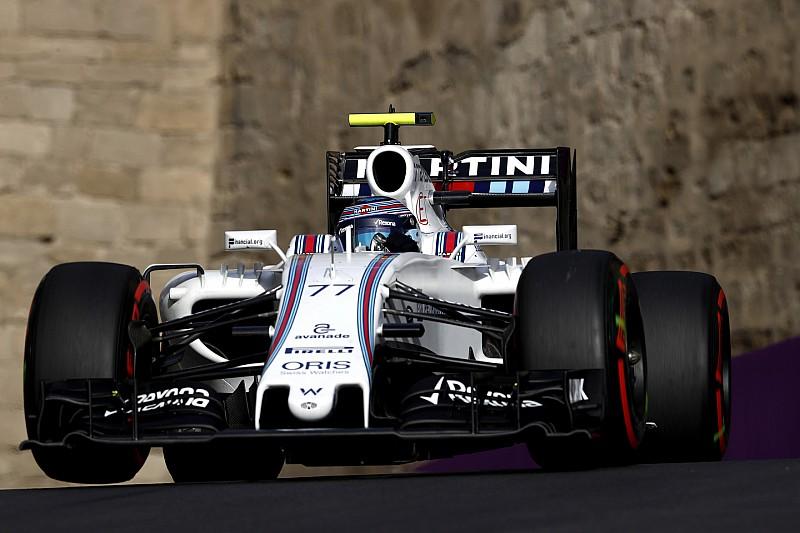 Боттаса не устроил темп Williams в Баку