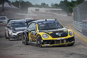 Global Rallycross Race report Tanner Foust wins Global Rallycross Daytona II