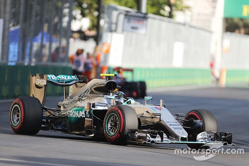 Mercedes спантеличений величезною перевагою в Баку