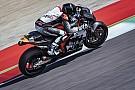 Thomas Luthi ha provato la KTM MotoGP al Mugello