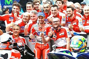 MotoGP Relato de classificação Dovizioso surpreende e conquista pole em Assen; Rossi é 2°