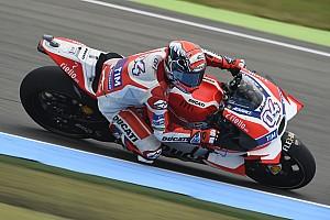 MotoGP 予選レポート MotoGPオランダ予選:ドヴィツィオーゾがPP。ロッシ2番手。マルケス転倒も執念の4番手
