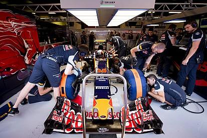 Le contenu du coffre à outils d'un mécanicien de F1